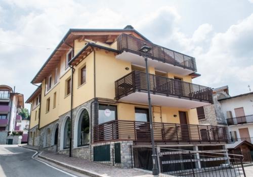 panoramica esterna condominio Il Sagrato